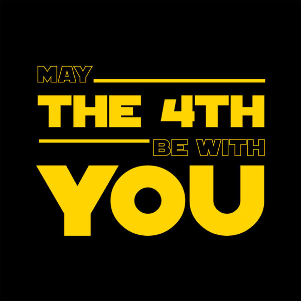 Camiseta Star Wars (May the 4th be with you)