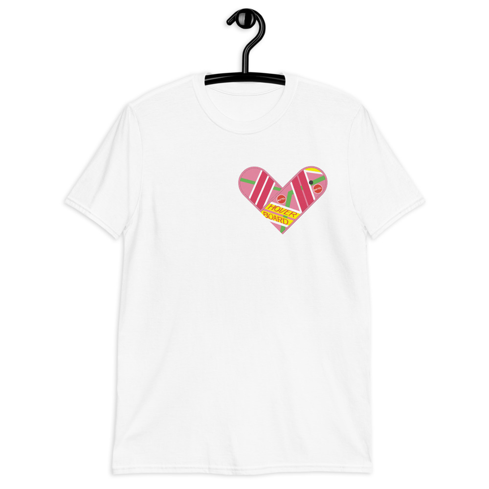 Camiseta True Love (Hoverboard Back to the Future)